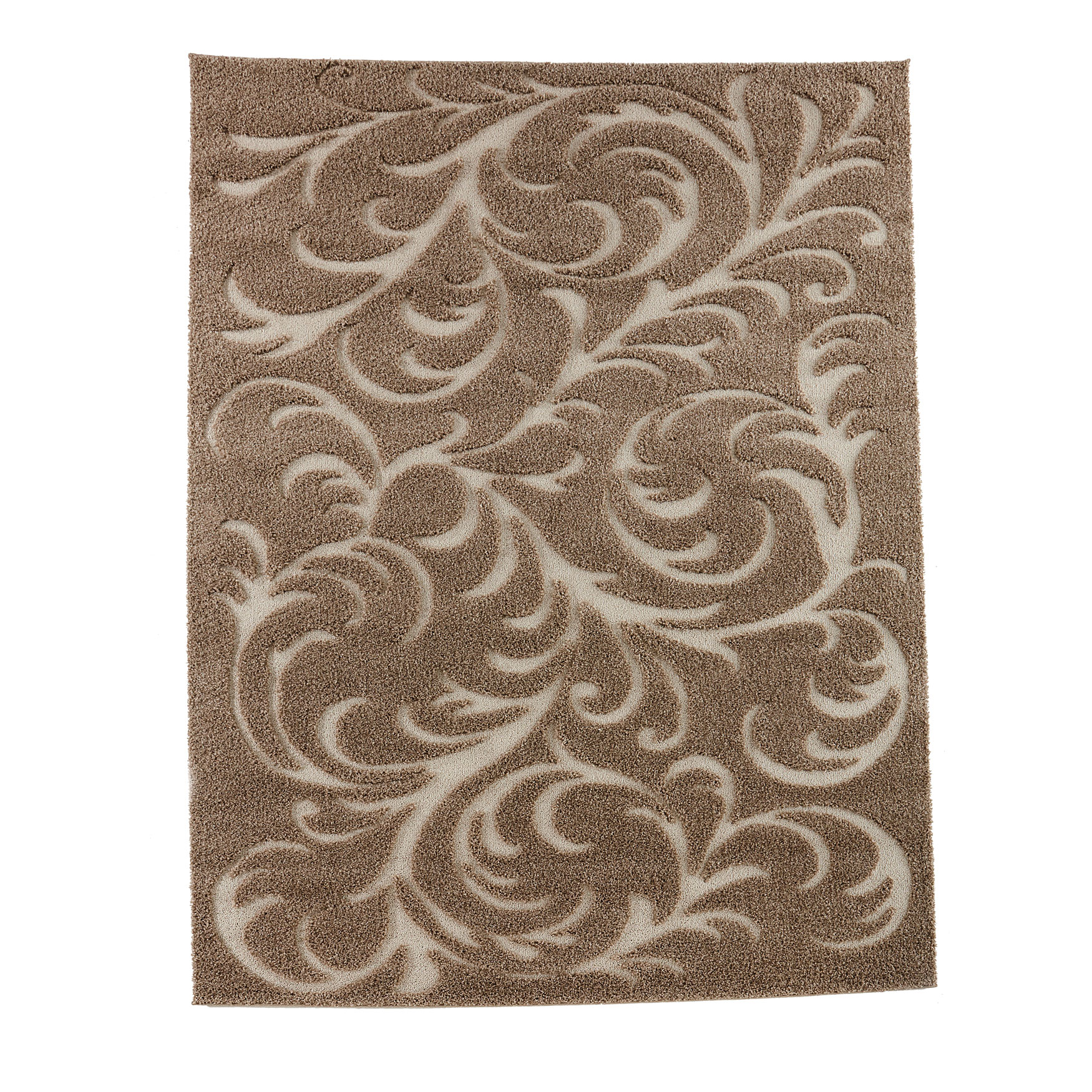 Large Winding Vines High-Low Rug ,