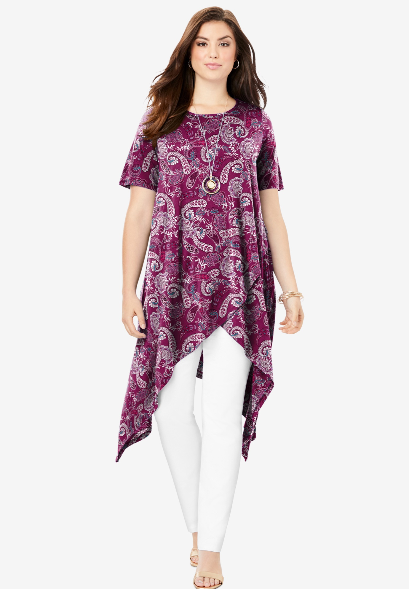 Side Point Tunic,