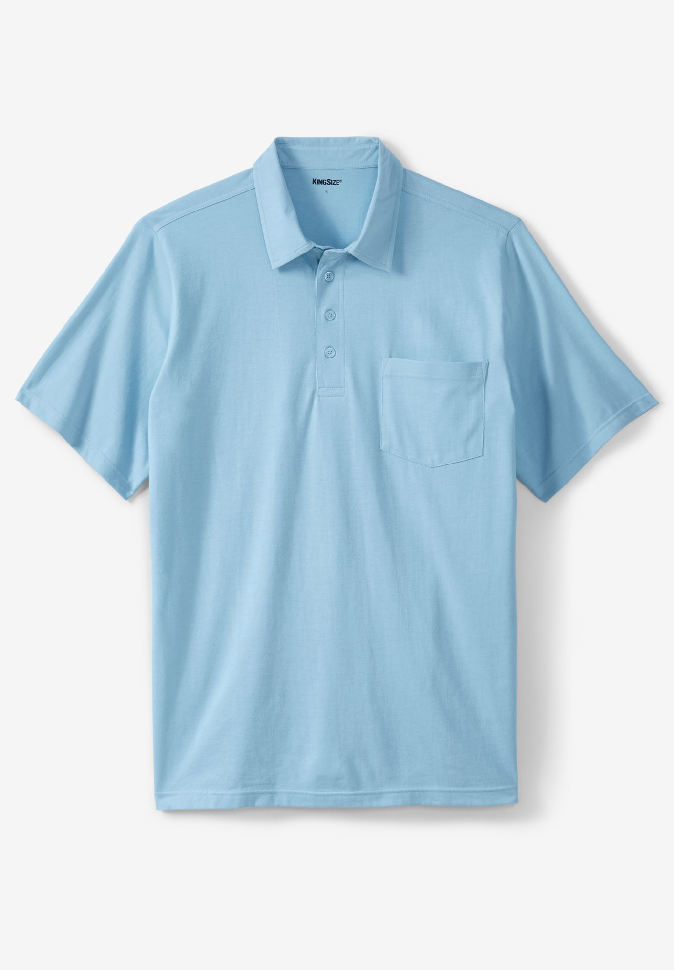 Lightweight Pocket Golf Polo Shirt,
