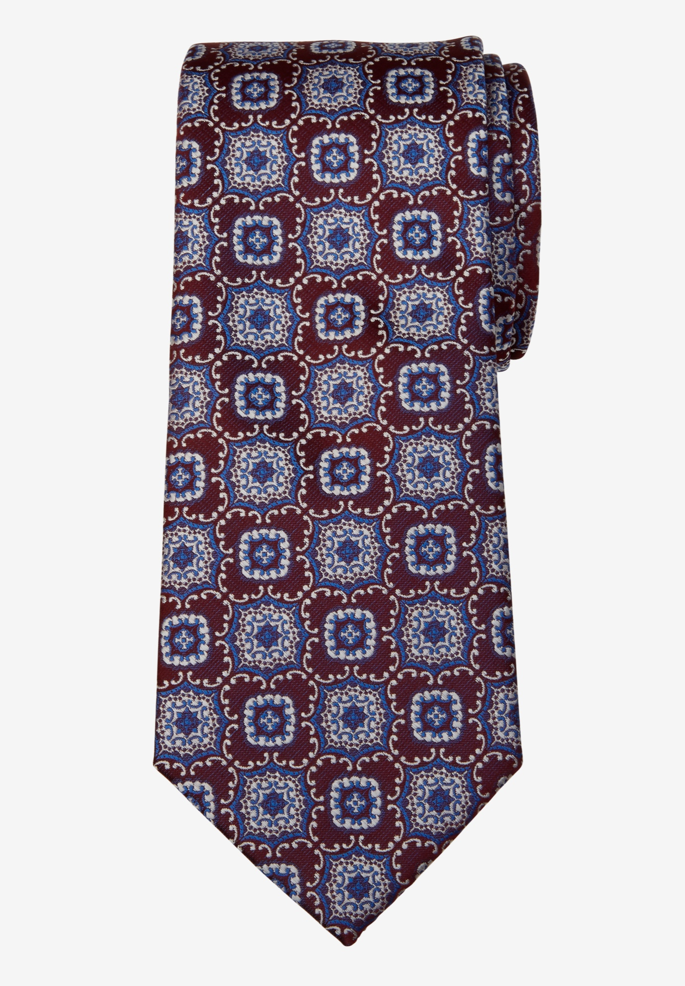 KS Signature Extra Long Classic Fancy Tie,