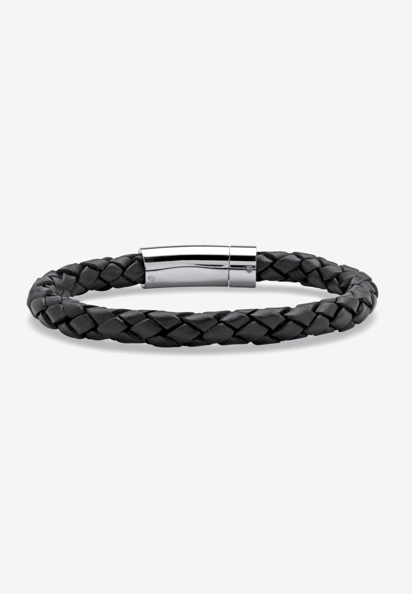 Leather Bracelet , BLACK