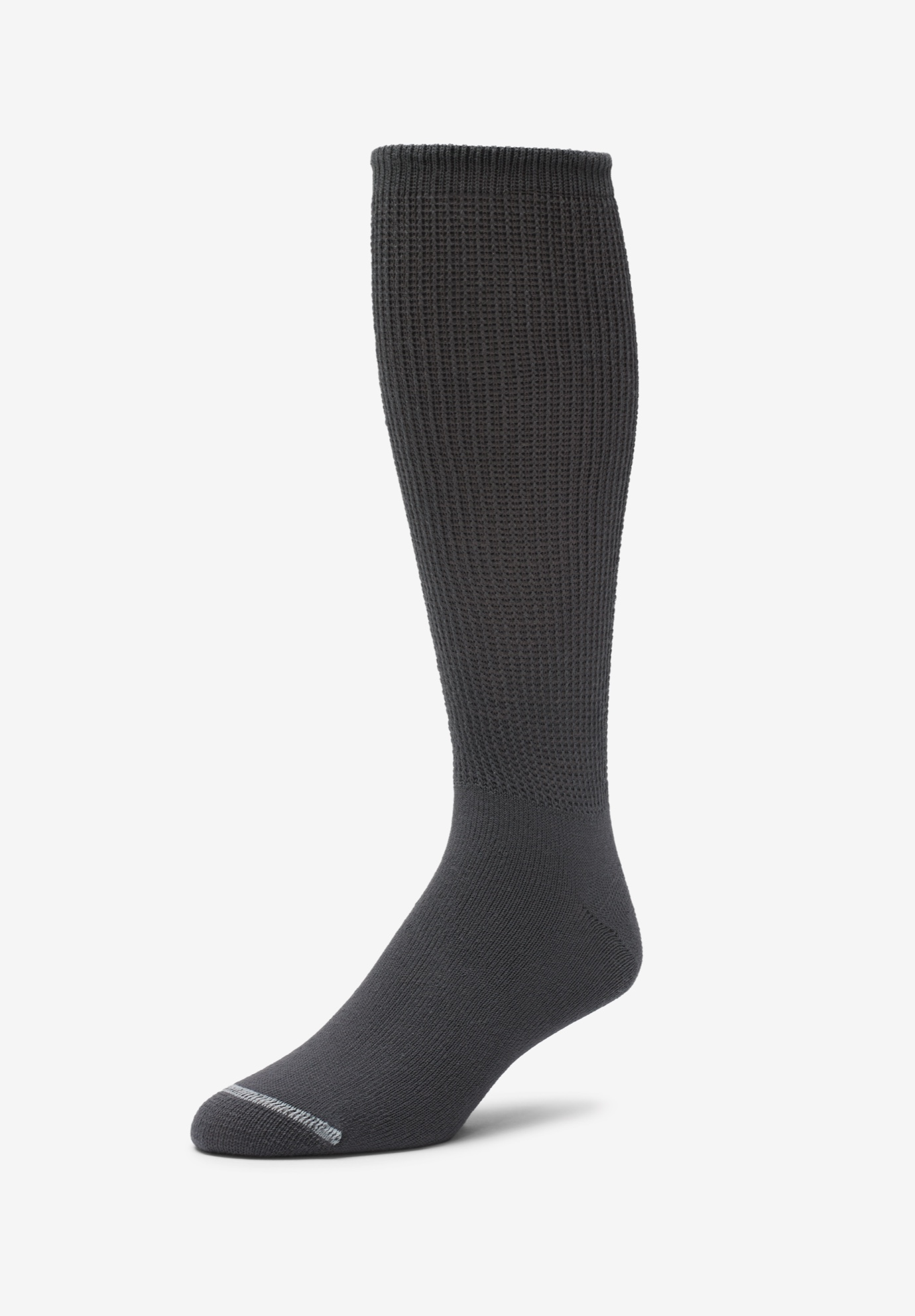 Diabetic Crew Socks with Extra Deep Footbed,