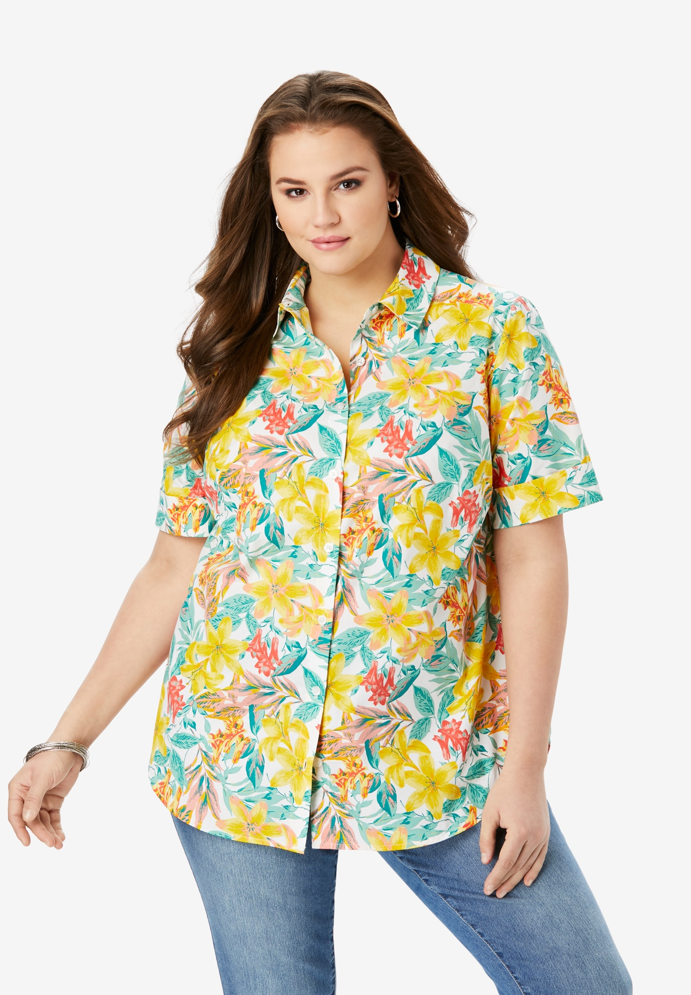 Short-Sleeve Kate Big Shirt,