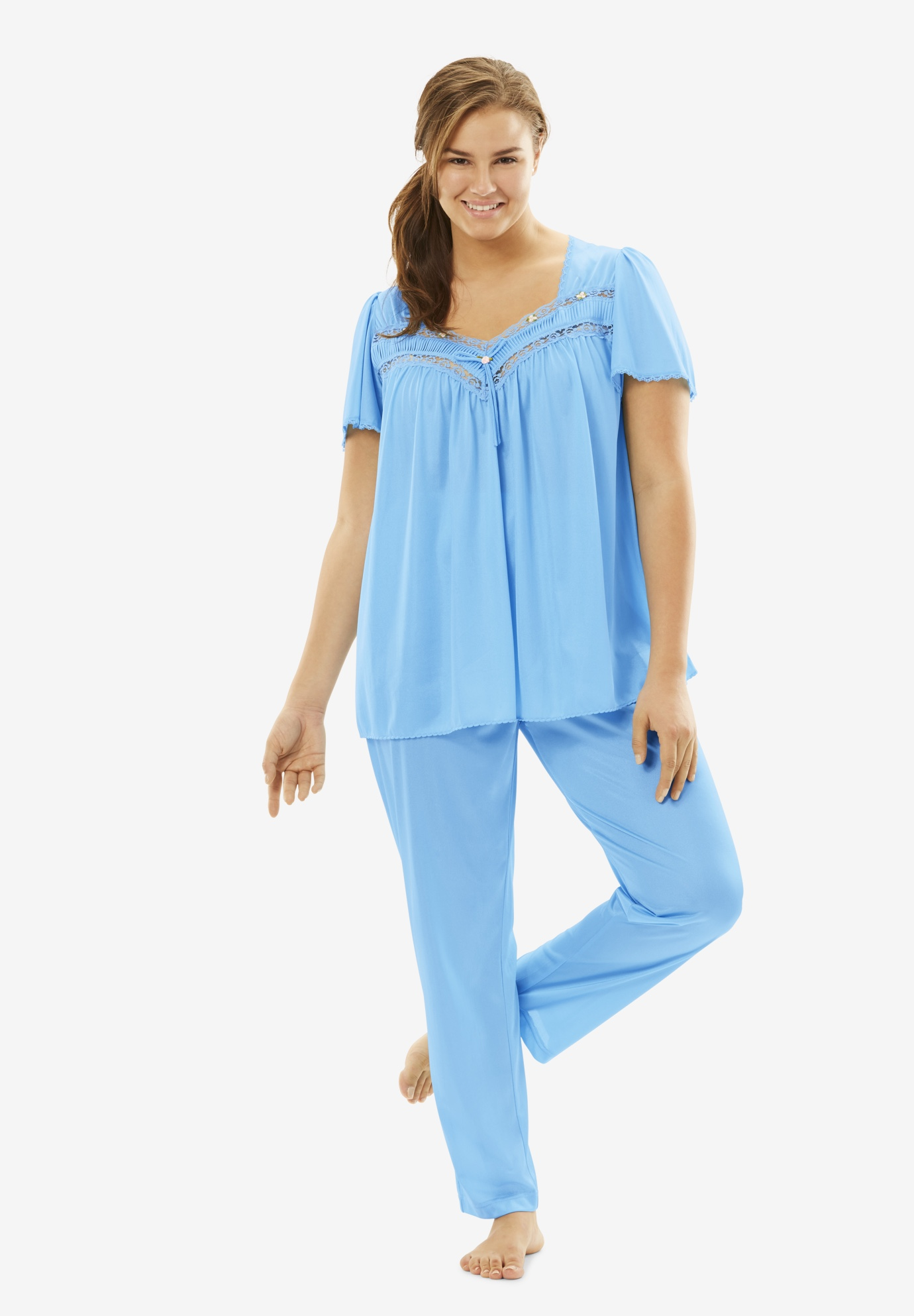 Silky 2-Piece PJ Set ,