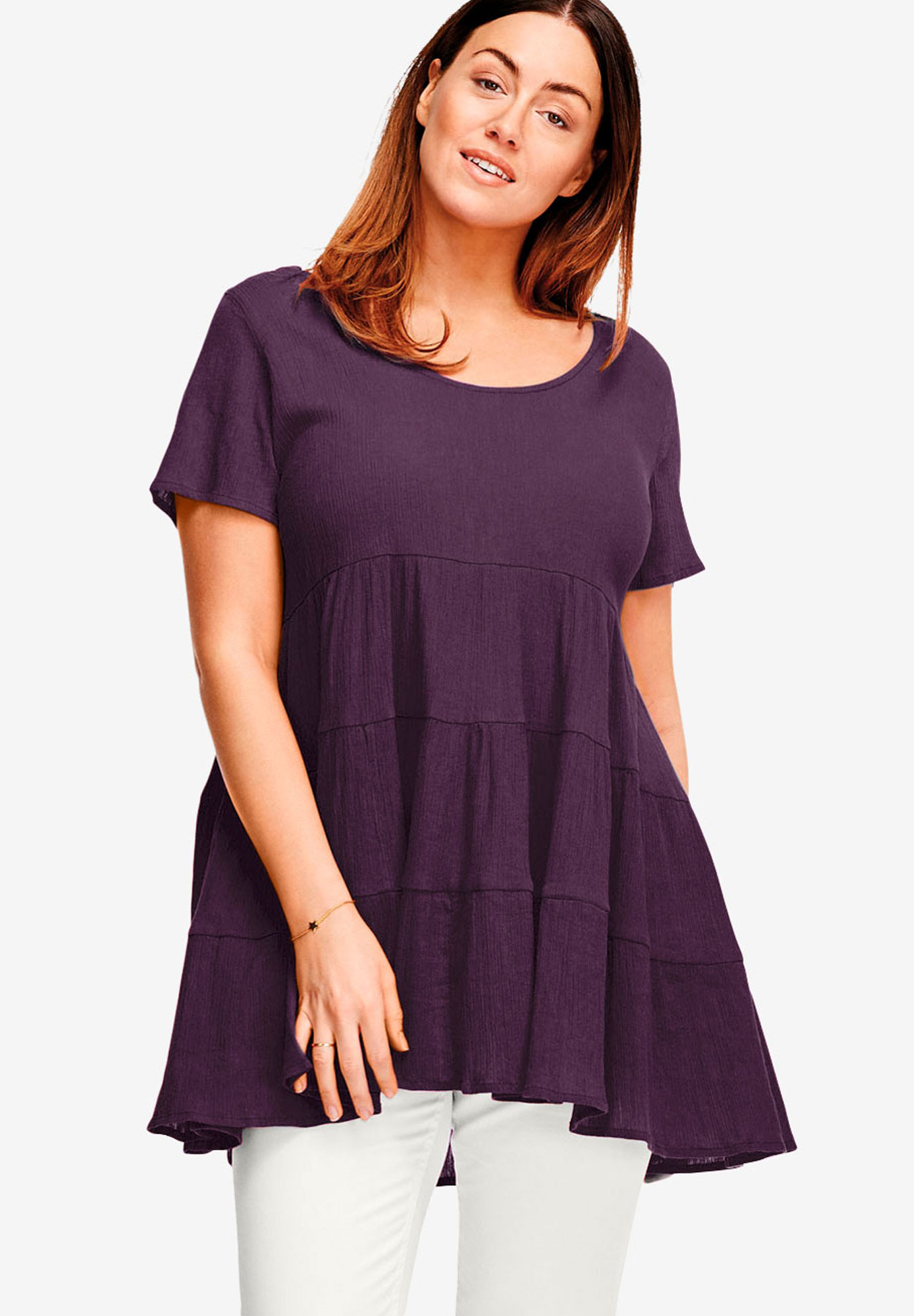Tiered Gauze Tunic,